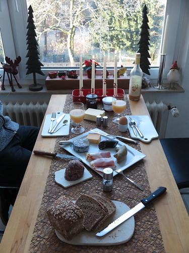 Frühstück am 2. Adventssonntag