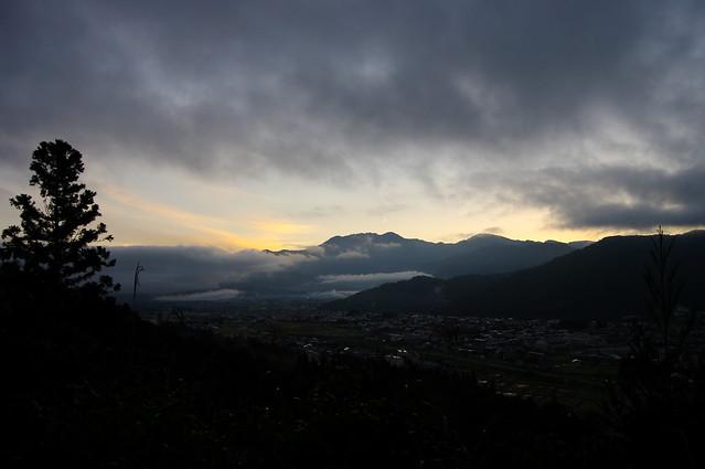 八海山、朝焼け_2016-09