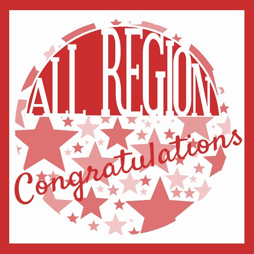Congratulations AllRegion red STARS