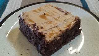 Peanut Butter Mousse Brownie