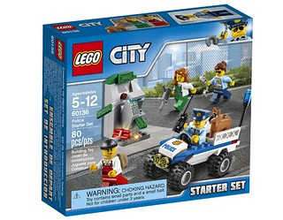 LEGO City Police Starter Set (60136) box