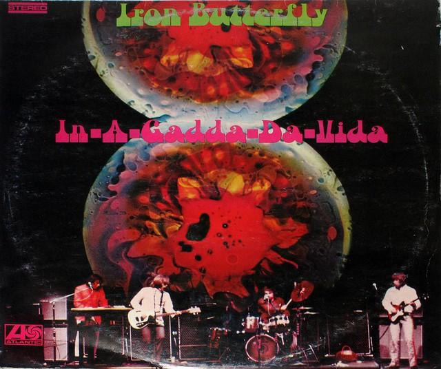 """IRON BUTTERFLY IN-A-GADDA-DA-VIDA JUGOTON / YUGOSLAVIA 12"""" LP"""