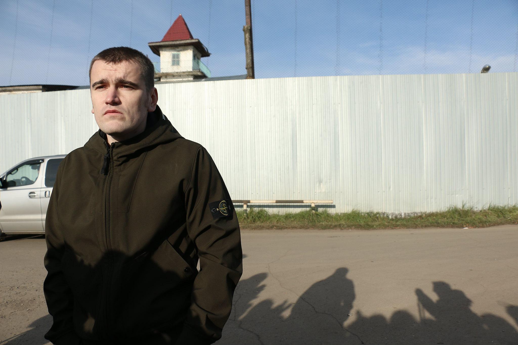 Леша Гаскаров вышел на свободу