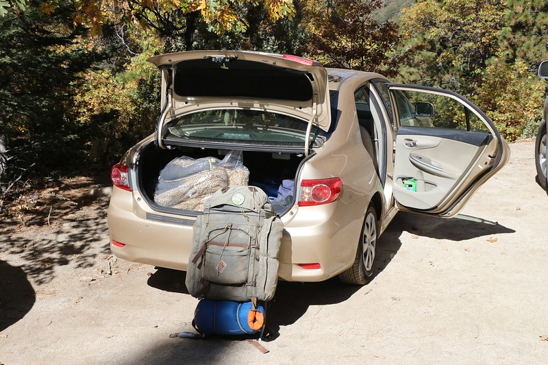 Back at the car, I loaded my gear into the trunk and headed on home - it had been a good hike