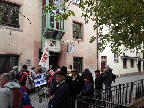 #GPII #Strasbourg #PE 2016-1026 Remise de la sentence du TPP au Parlement Européen 20161026_112034