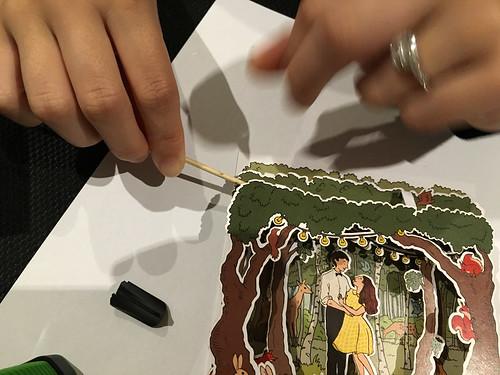 Woodland wedding - construction