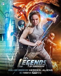 Heroes Vs Aliens Legends of Tomorrow
