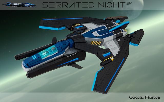 Serrated Night 3V Vic Viper