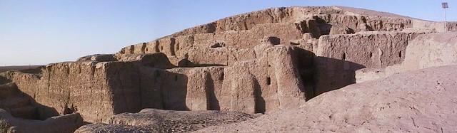 Монументальные сооружения храмового комплекса