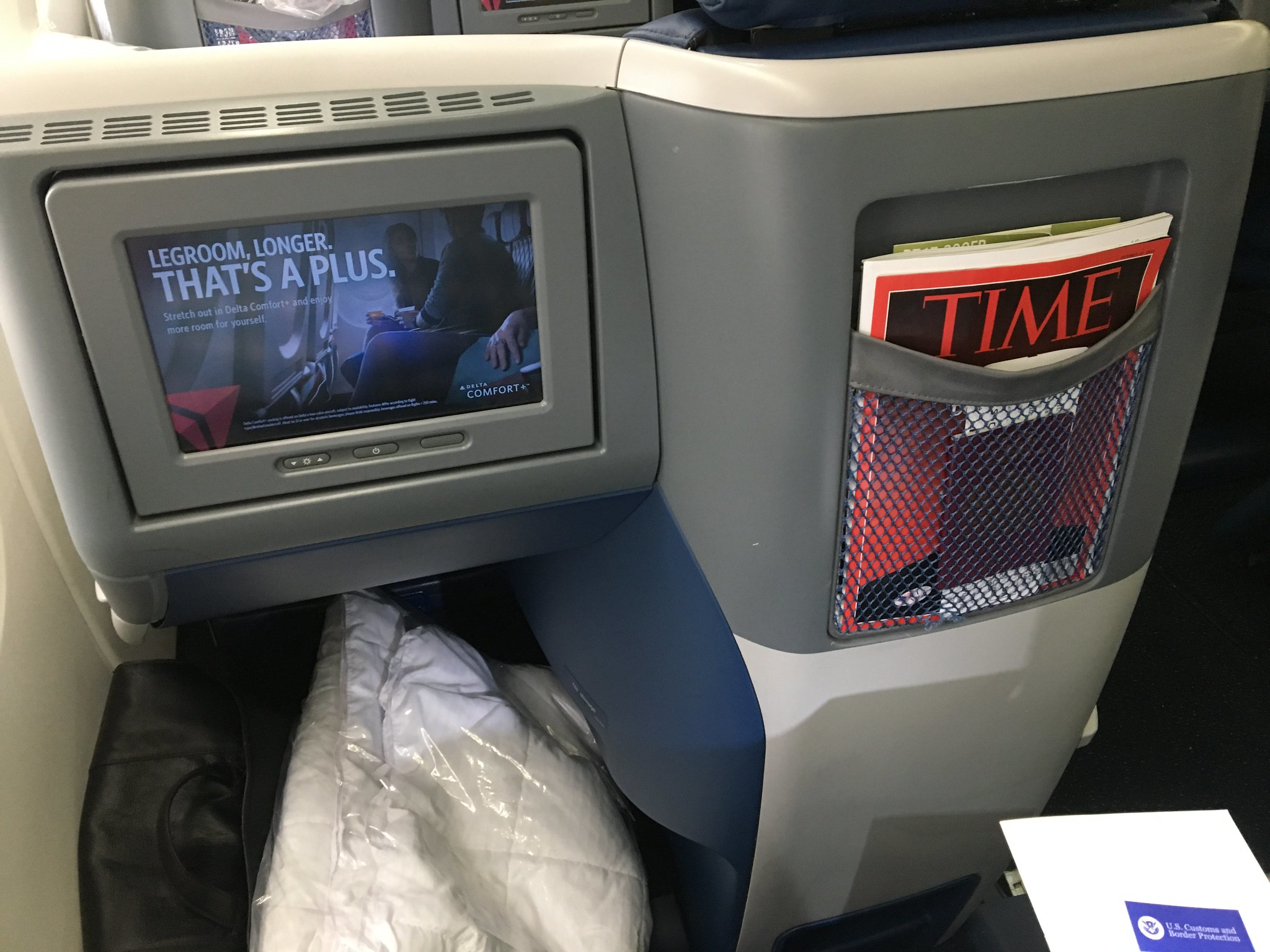 Review of Delta Air Lines flight from London to Boston in
