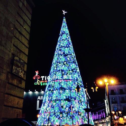 Navidad 2016-2017, Puerta del Sol. Madrid