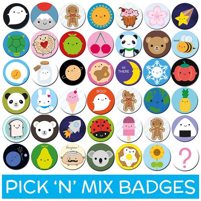 Pick 'n Mix Badges