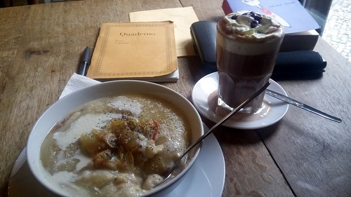 Grießbrei im Café Morgenrot