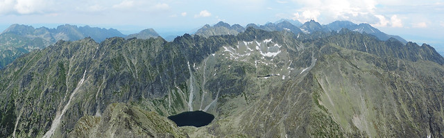 Panorama from Krivan, High Tatras, Slovakia