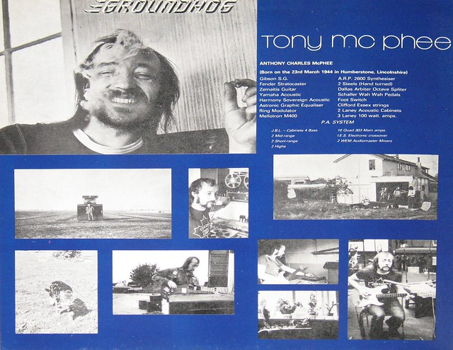 "Groundhogs Hogwash 12"" Full-Length Vinyl LP"