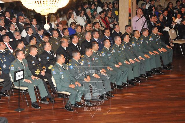 Escuela Superior de Guerra clausura Curso de Altos Estudios Militares y Curso Integral de Defensa Nacional 2016