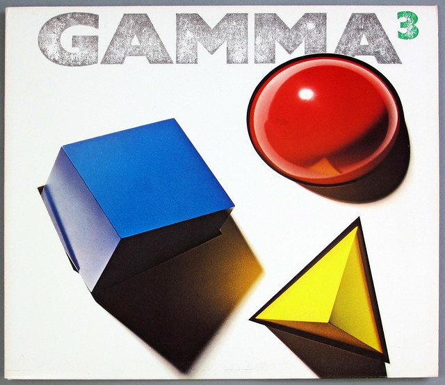 "GAMMA WITH RONNIE MONTROSE ELEKTRA US 3 12"" LP VINYL"
