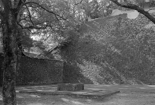 Stone wall of Kumamoto Castle
