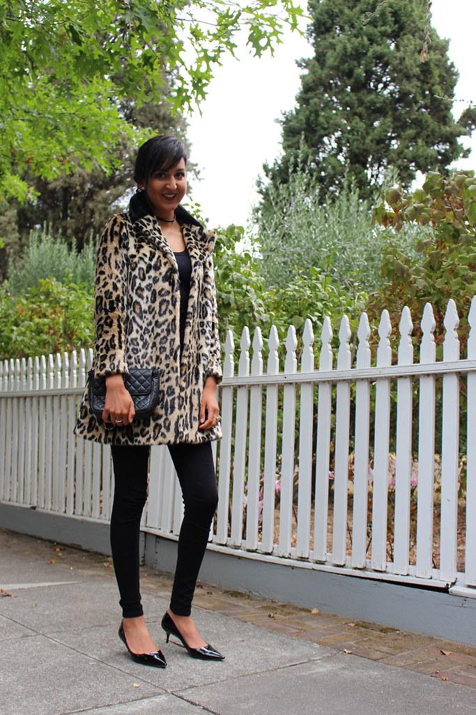 Leopard Print Coat 7