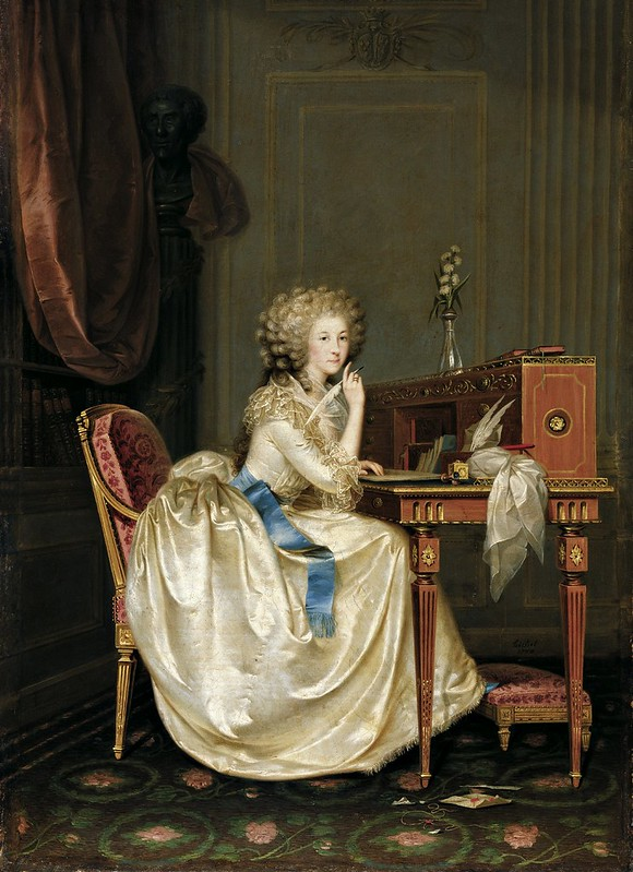 Karl Anton Hickel - Portrait of the Princess of Lamballe (1788)