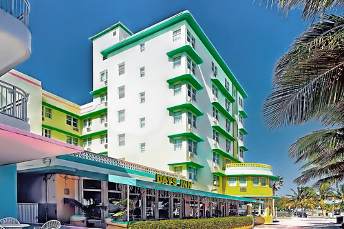 Days Inn Beach Oceanfront Miami  Ocean Terrace