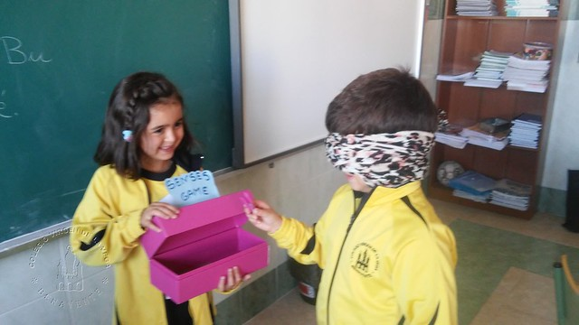 THE SENSES GAME 1º B