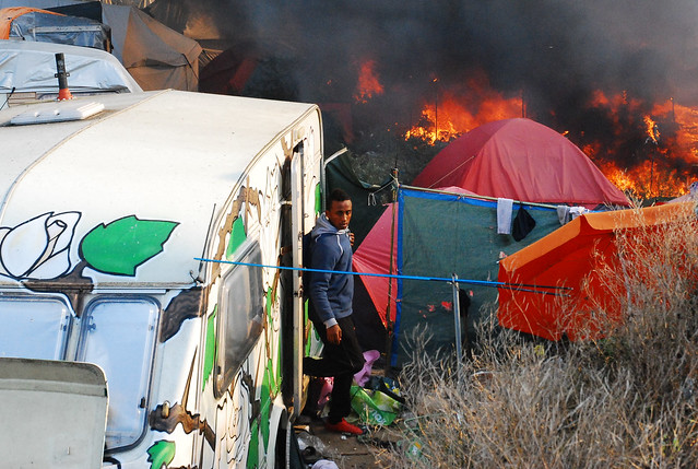 The eviction of the Jungle (Calais)