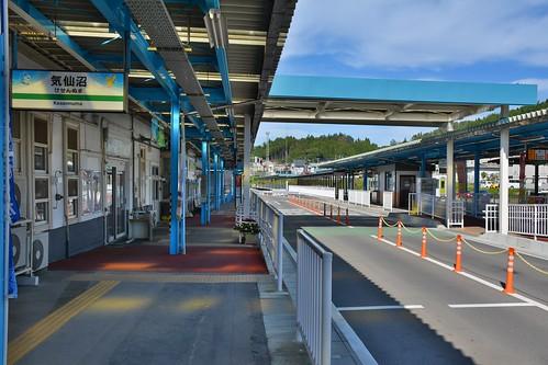 気仙沼駅:BRTのりば