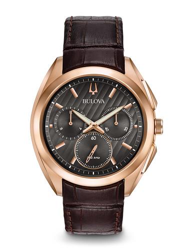 Reloj Bulova Curv Cronógrafo Cuero Hombre 97A124 1 - copia