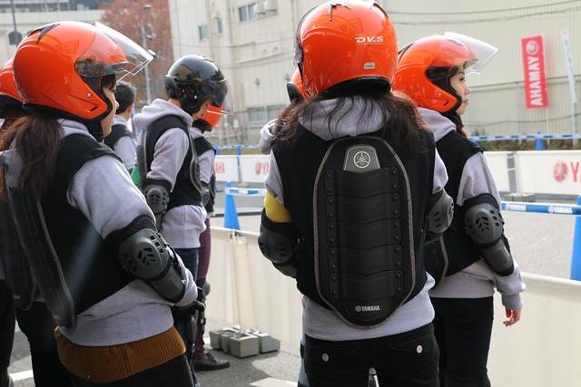 断念バイカー救済イベント ヤマハ発動機 トリシティ