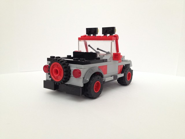 Moc Jeep Wrangler From Jurassic World Videogame With Instructions
