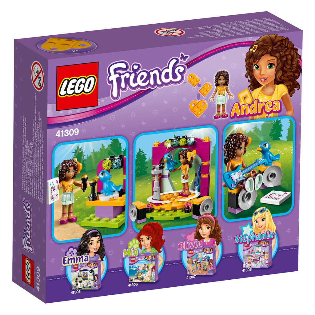 LEGO Friends Andrea's Show (41309)