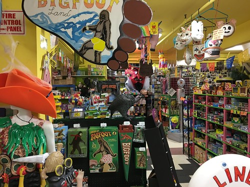 SO MUCH FUN at Archie McPhee in Seattle WA