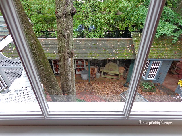 The Charlotte Inn - Window View - Potting Shed - Housepitality Designs