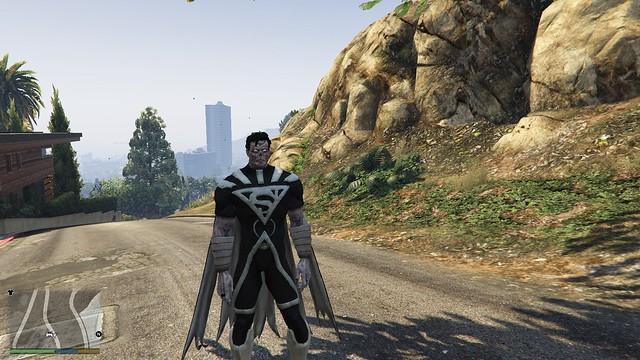 GTA 5 - Blackest Φως Σούπερμαν