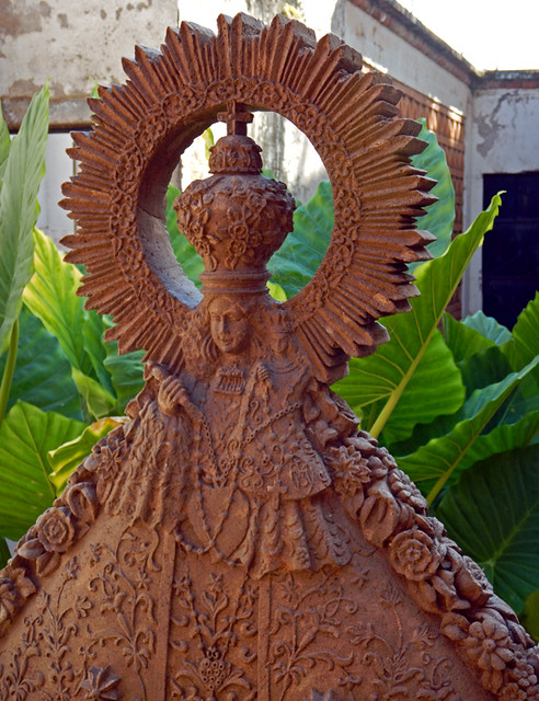 A representation of the virgin in Mascota, a 'Pueblo Magico' on the Sierra Madres Occidental on the Pacific coast of Mexico