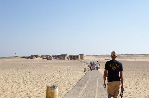 Walking Towards Tuna el-Gebel