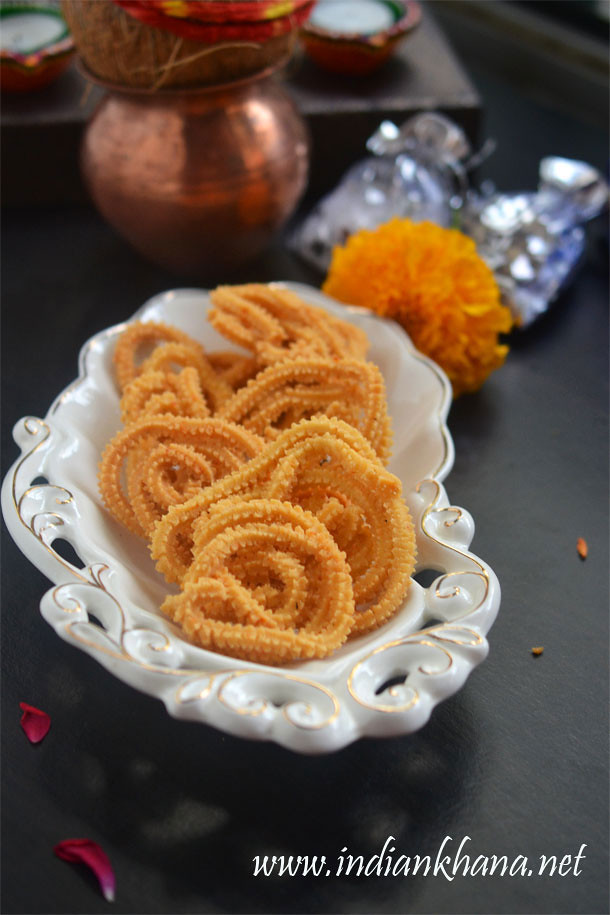 Garlic Murukku