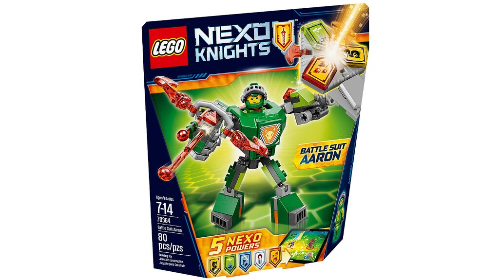LEGO Nexo Knights 70364 - Battle Suit Aaron