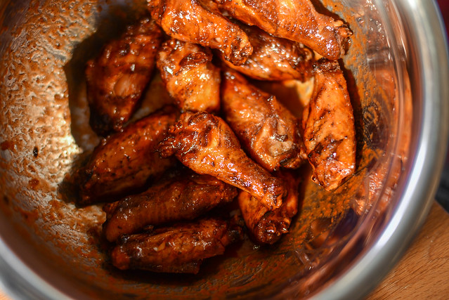 Smoked and Fried Wings