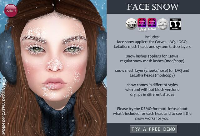 Face Snow (for Tannenbaum)