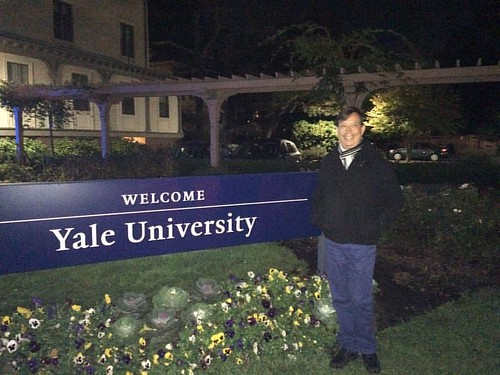 Thanks, Yale University for a lovely experience at #EGAP18