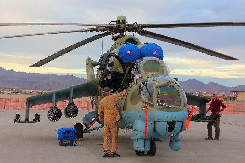 IMG_4103 Mi-24D Hind, Nellis AFB Airshow