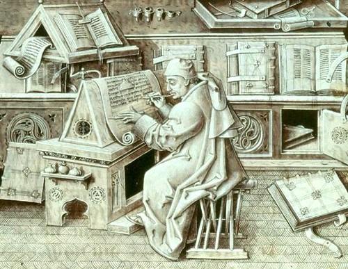 15th century scribe