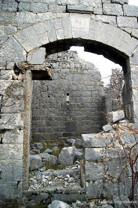 Вход в крепость