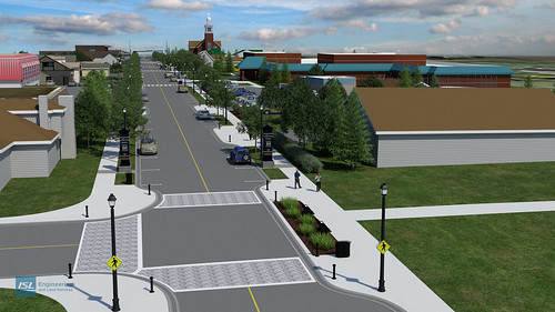 Beaumont, Alberta: 50th Avenue Streetscape