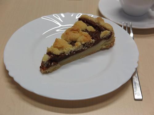Quittenkuchen (bei einem Arbeitstreffen in Marburg)