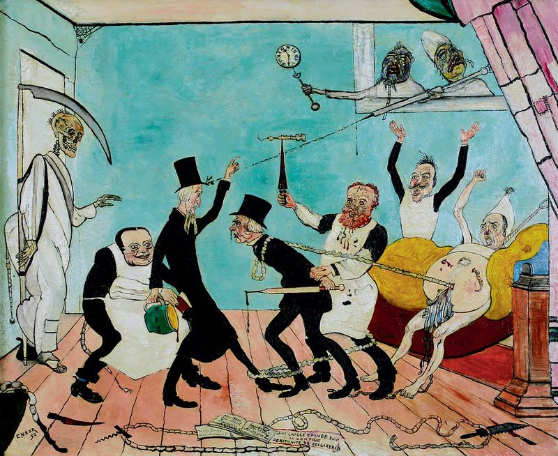 James Ensor - The Bad Doctors, 1892