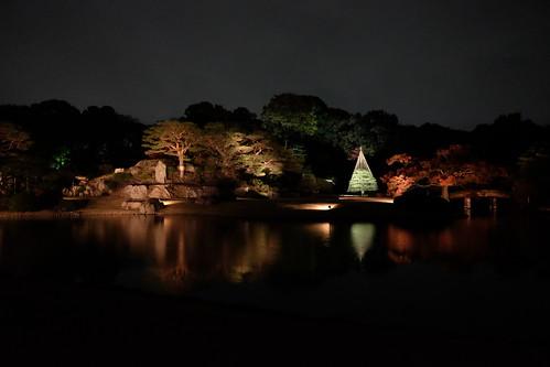 RIKUGIEN Colored Leaves light up 2016 04