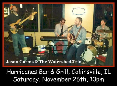 Jason Garms & The Watershed Trio 11-26-16